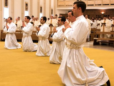 Ordenaciones Diaconales en Roma