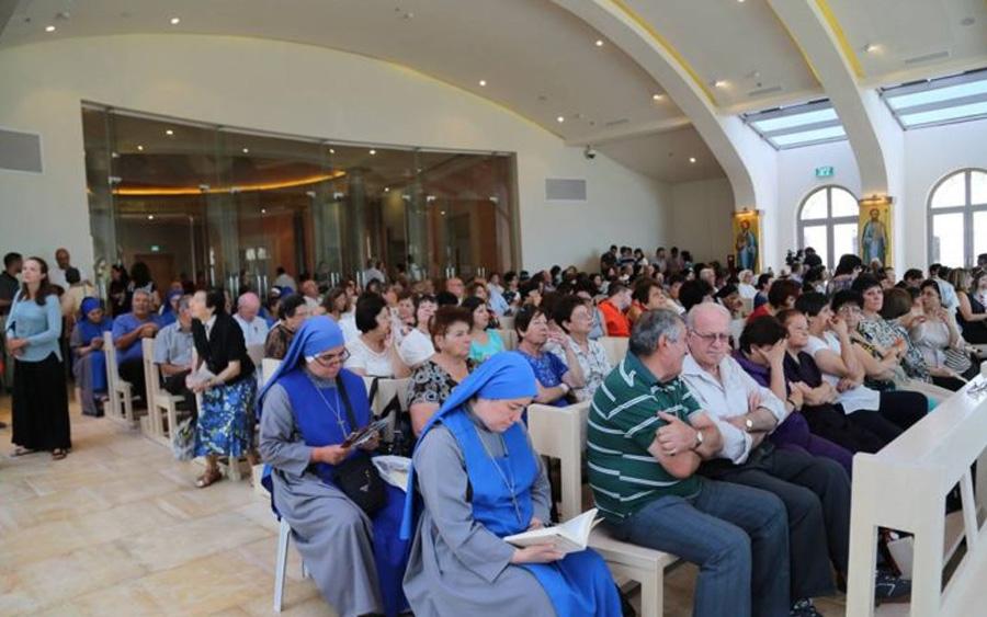 El Magdala Center celebra su primera fiesta litúrgica patronala