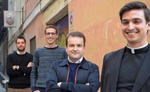 El H. Michael Canzian, L.C., entrevistado por Alfa y Omega junto a otros tres seminaristas