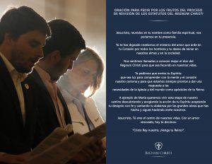 Borrador del Estatuto General del Regnum Christi