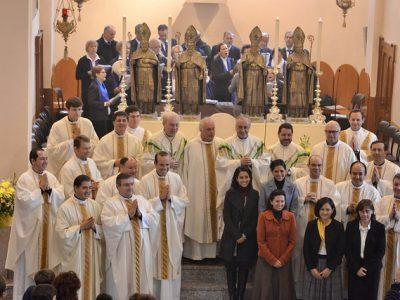 P. Alberto Avi, LC párroco de la iglesia de los Santos Mártires Nazaro y Celso.