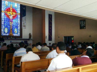 Retiro de Cuaresma a sacerdotes de la arquidiócesis de Antequera (Oaxaca)