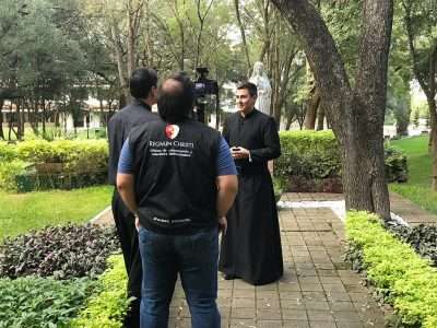 """Relanzamiento de la página vocacional """"Soy Legionario de Cristo"""" para Monterrey, México y Centroamérica"""