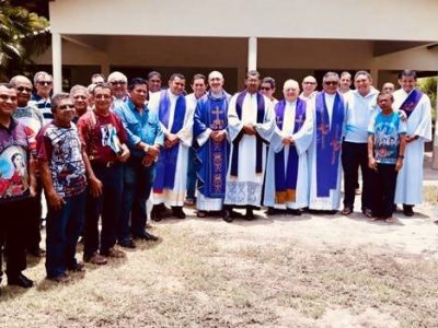 Ejercicios espirituales a los sacerdotes de la diócesis de Viana en el Estado de Maranhão (Brasil)