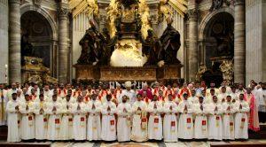 Ordenaciones diaconales en rito Siro-malabar y latino de 14 seminaristas del Pontificio Colegio Internacional Maria Mater Ecclesiae