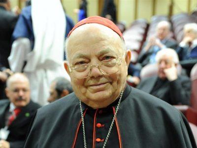 El Card. Elio Sgreccia dedicó muchos años de su vida al Evangelio de la vida