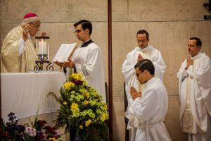 El P. Santiago Mejía, LC recibió la ordenación diaconal en Aguascalientes