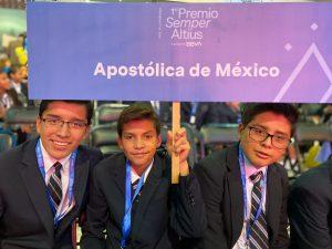 Alumnos del Centro Vocacional participaron en el Premio Semper Altius