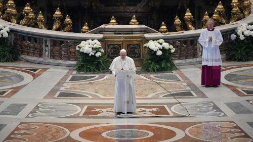 Que el resucitado sane las heridas de la humanidad desolada — Mensaje del Papa Francisco y bendición Urbi et Orbi