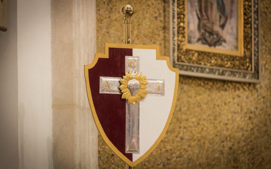 El Legionario, guardia de honor del Corazón de Jesús