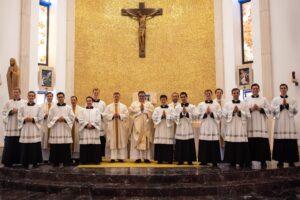 «A ustedes les llamo amigos» — Profesiones religiosas en Roma