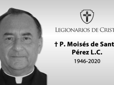 «Busco tu rostro, Señor» — Fallece el P. Moisés de Santos, LC