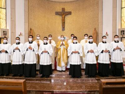 «Heme aquí Señor, a ti vengo» — Profesiones religiosas en el noviciado de Monterrey