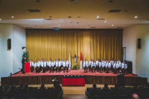 Recepción de la sotana en el Noviciado de Monterrey