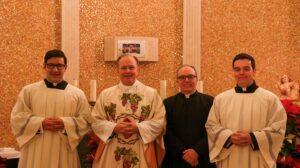 Ordenaciones sacerdotales y profesiones perpetuas