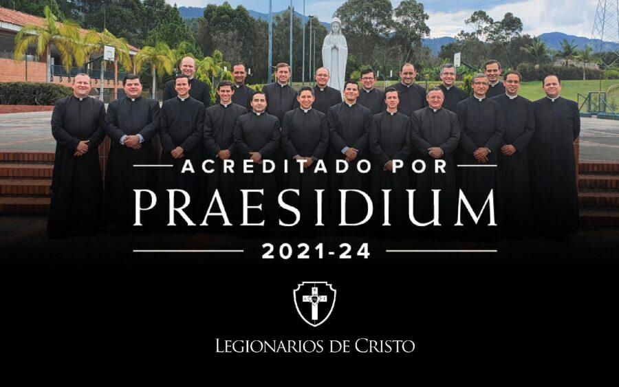 Reciben acreditación Praesidium para las políticas de ambientes seguros de los Legionarios de Cristo en Colombia, Venezuela y Ecuador