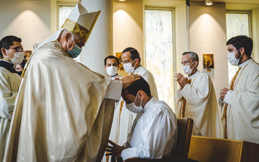 Ordenación diaconal del P. Carlos Ángel Martínez, LC